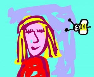 Trickfilmchen_Cartoongirl