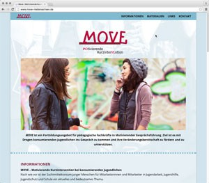 MOVE – Motivierende Kurzintervention bei konsumierenden Jugendlichen