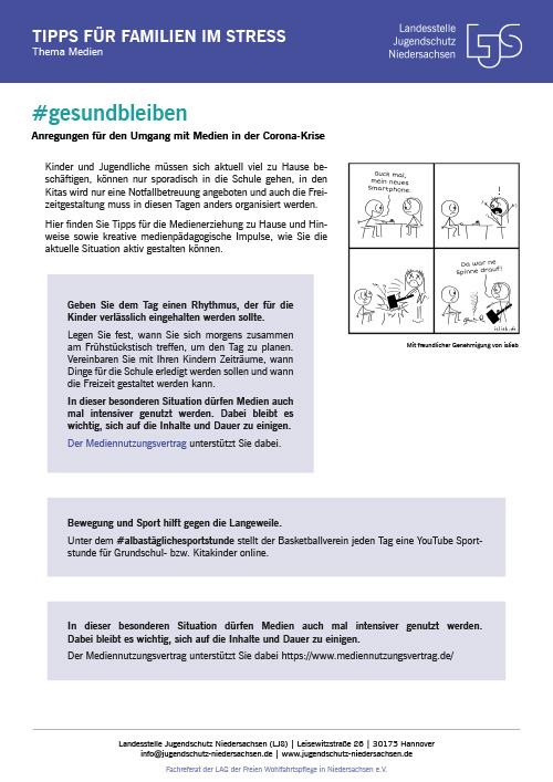 LJS: Tipps für Familien im Stress | Thema Medien